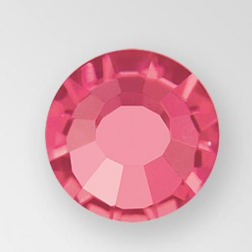 INDIAN PINK Preciosa Flat Back Rhinestones