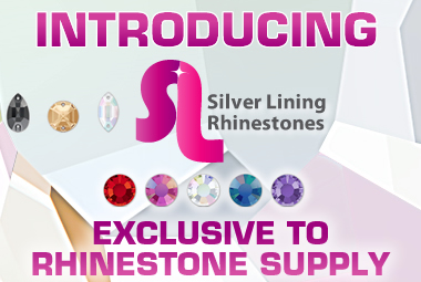 Silver Lining Rhinestones - Exclusive to Rhinestone Supply!