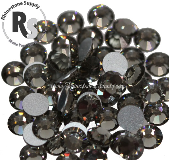 BLACK DIAMOND Preciosa Flat Back Rhinestones