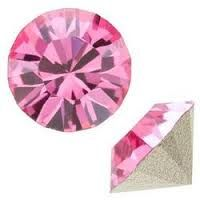 PP30 Rose 1028 Swarovski Point Back Chaton