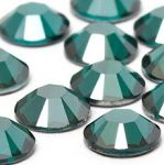 12ss BLUE ZIRCON SATIN HOT FIX Rhinestones