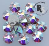 30ss CRYSTAL AB 2078 Hot Fix Rhinestones