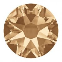 2088 12ss GOLDEN SHADOW Rhinestones