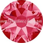12ss INDIAN PINK 2088 Rhinestones
