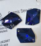 3265 HELIOTROPE - Cosmic SEW ON Rhinestone 26mm x 21mm
