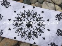 Biker Bling Bandana for the Harley Ladies - White Burst