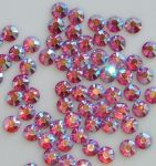 12ss INDIAN PINK AB HOT FIX Rhinestones