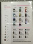 Rhinestone Color Chart for Preciosa Rhinestones