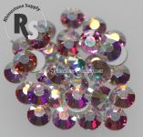 16ss * NEW * CRYSTAL AB - HOT FIX Viva12 Rhinestones