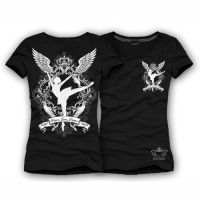 DANCE T Shirt - Peace Love Dance by Katydid BLACK