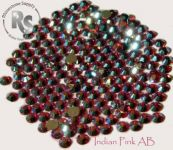 12ss INDIAN PINK AB Rhinestones