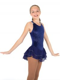 Jerry's Ice Shimmer Dress - BLUEBERRY - 570 Youth 6-8